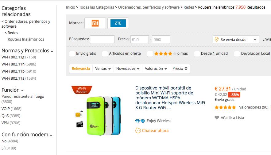 Routers Wifi Xiaomi, Huawei y otros Routers Wifi Baratos